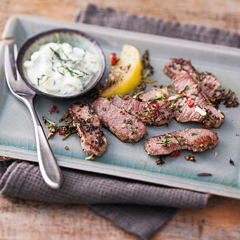 Kräuter Lamm Rezept Küchengötter