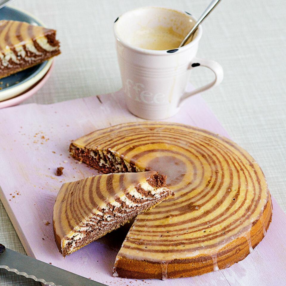 Zebrakuchen Rezept Schneller Kuchen Kuchengotter