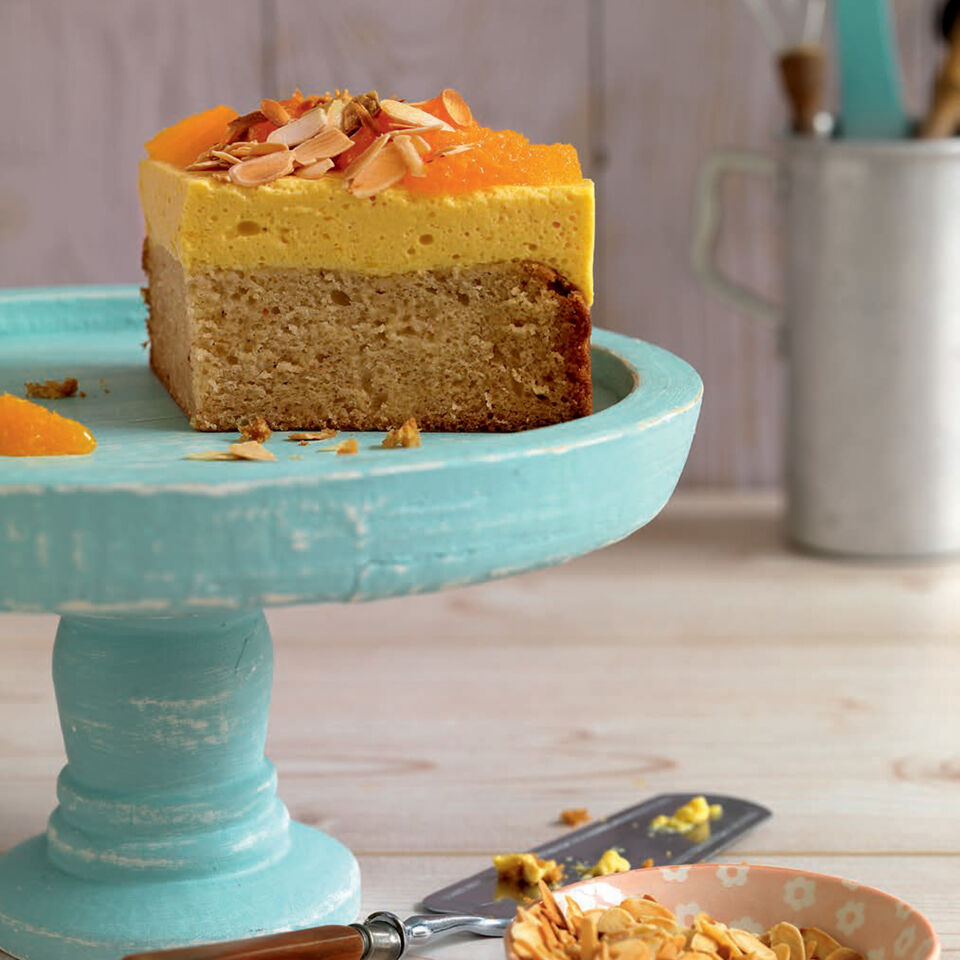 Vegane Mango Orangen Torte Im Kleinformat Rezept Kuchengotter