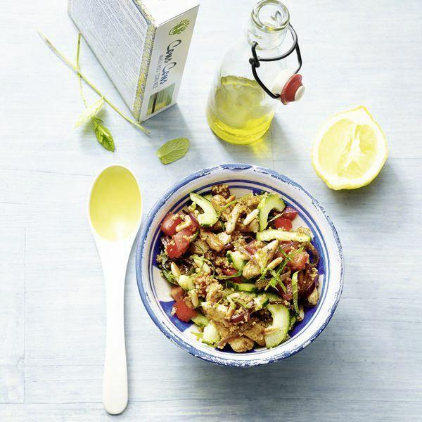 low carb marokko salat mit h hnchen rezept k cheng tter. Black Bedroom Furniture Sets. Home Design Ideas