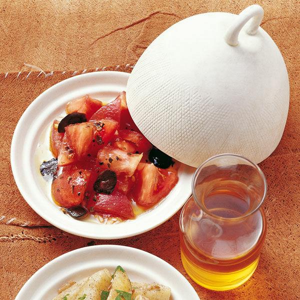 tomatensalat mit argan l rezept k cheng tter. Black Bedroom Furniture Sets. Home Design Ideas