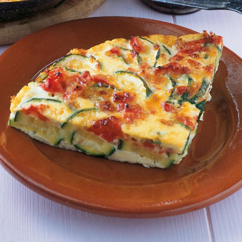 Zucchinikuchen Mit Tomaten Und Manchego Rezept Kuchengotter