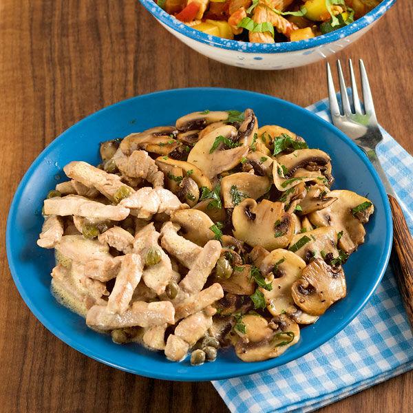 Geschnetzeltes mit Pilzgemüse Rezept | Küchengötter