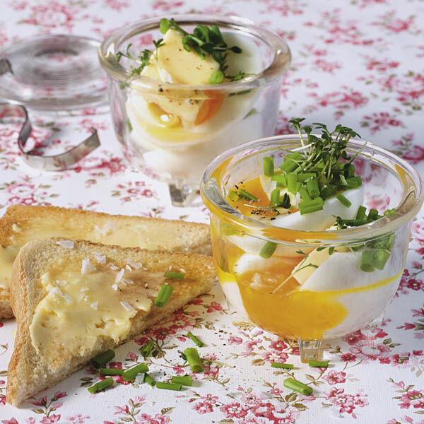 Eier im glas rezept k cheng tter - Eier kochen dauer ...