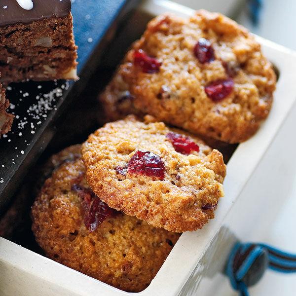 walnuss cranberry cookies rezept k cheng tter. Black Bedroom Furniture Sets. Home Design Ideas