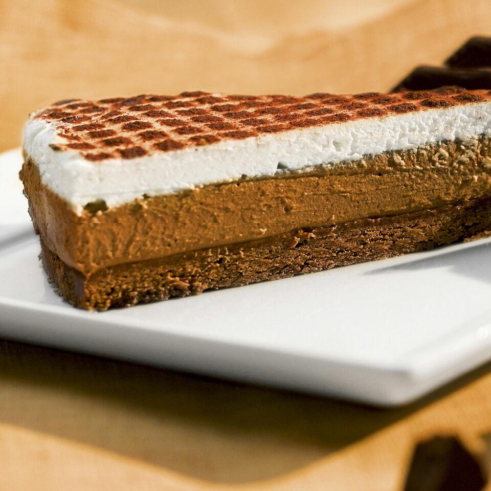 Flache Schokomousse Torte Rezept Kuchengotter