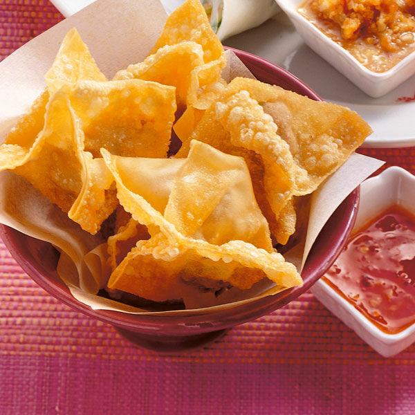 Frittierte Wan Tan Mit H 228 Hnchenbrustfilet Rezept