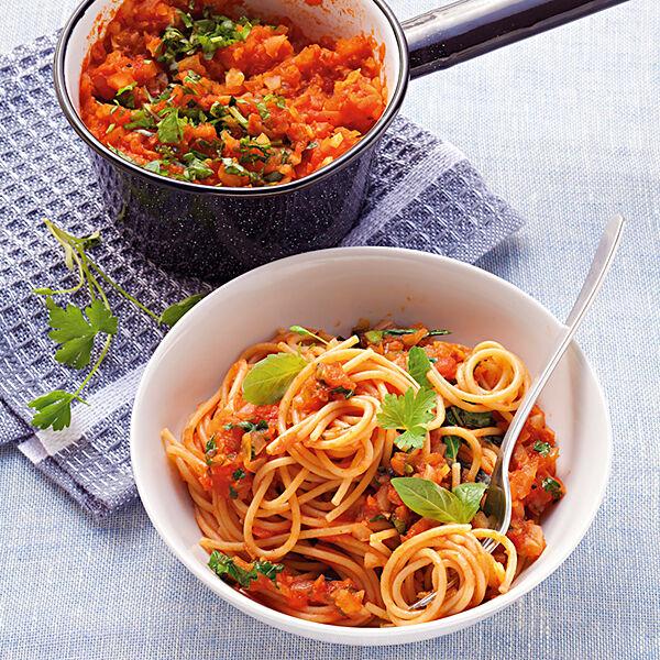 gem se kr uter bolognese mit spaghetti rezept k cheng tter. Black Bedroom Furniture Sets. Home Design Ideas