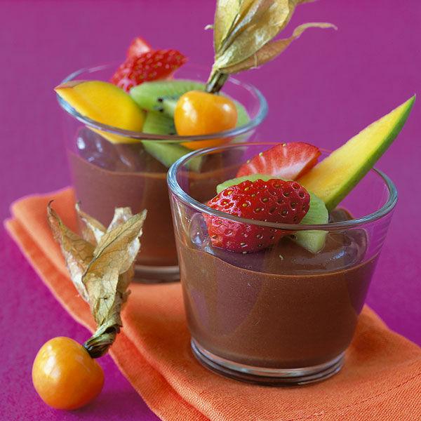 schokoladencreme mit fr chten rezept k cheng tter. Black Bedroom Furniture Sets. Home Design Ideas
