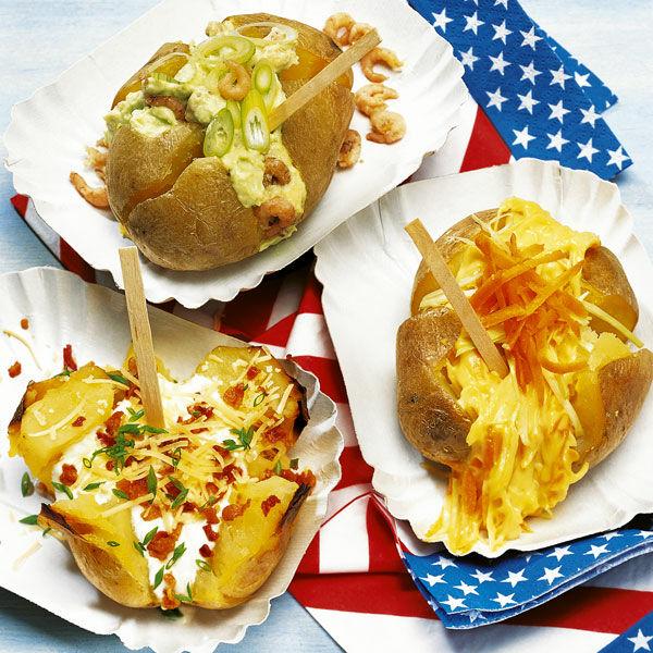 baked potatoes mit sour cream f llung rezept k cheng tter. Black Bedroom Furniture Sets. Home Design Ideas