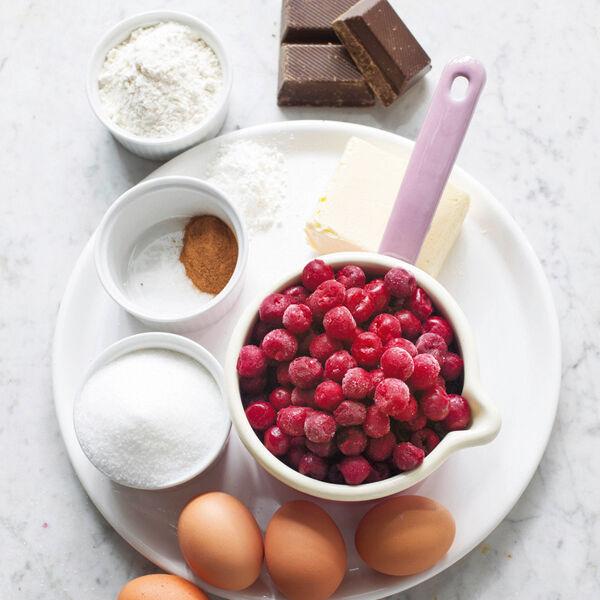 Schokokuchen Mit Kirschkompott Rezept Kuchengotter