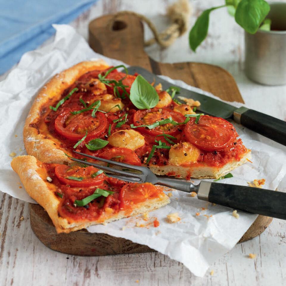 pizza la veganista rezept k cheng tter. Black Bedroom Furniture Sets. Home Design Ideas