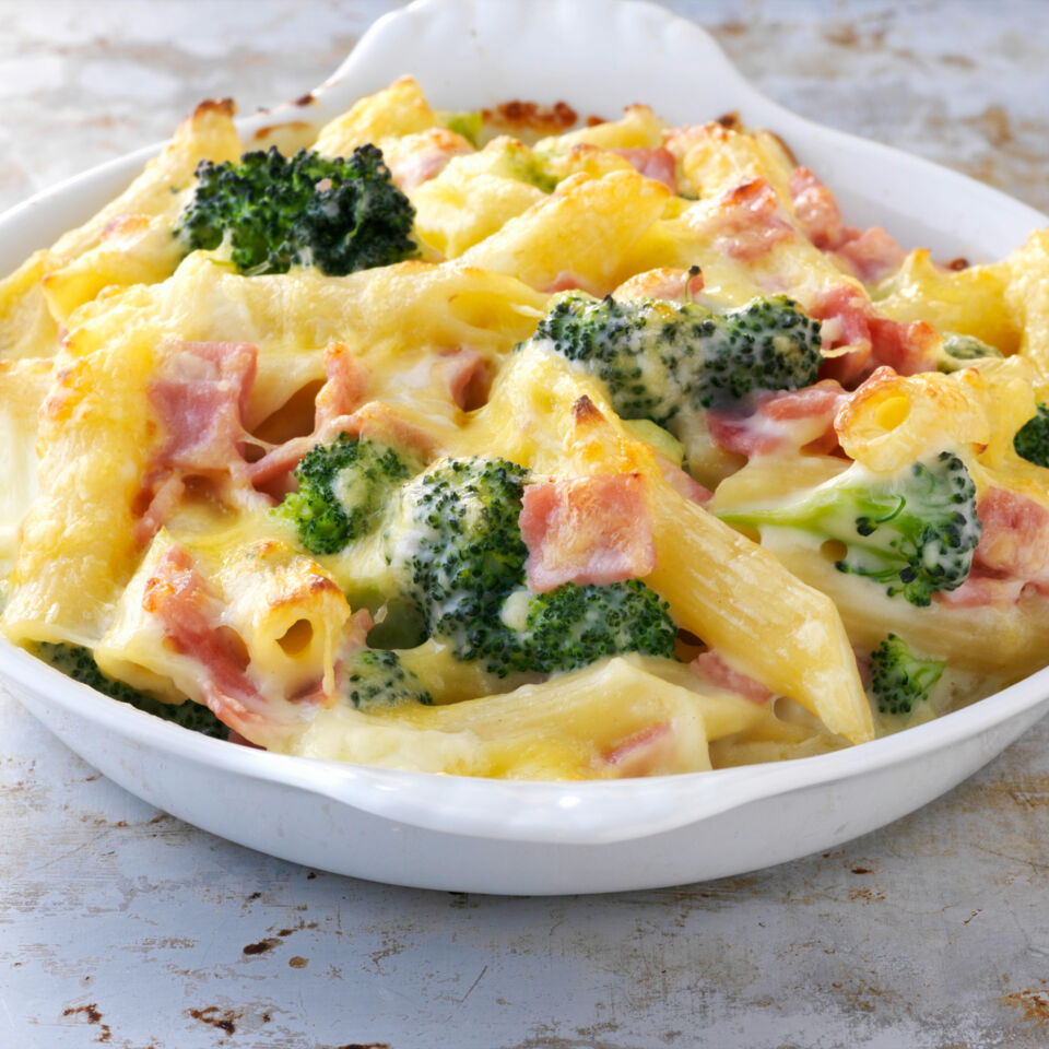 Nudel brokoli auflauf