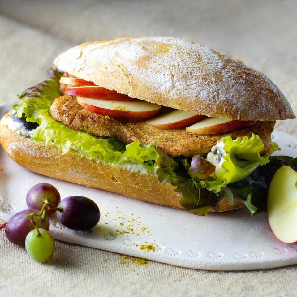 Fruchtiges Puten-Sandwich Rezept | Küchengötter