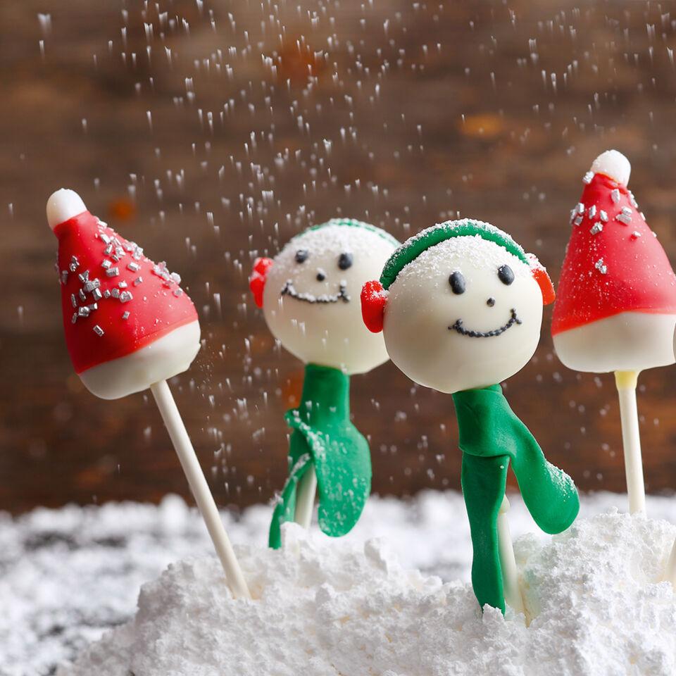 Weihnachts-Pops Rezept | Küchengötter