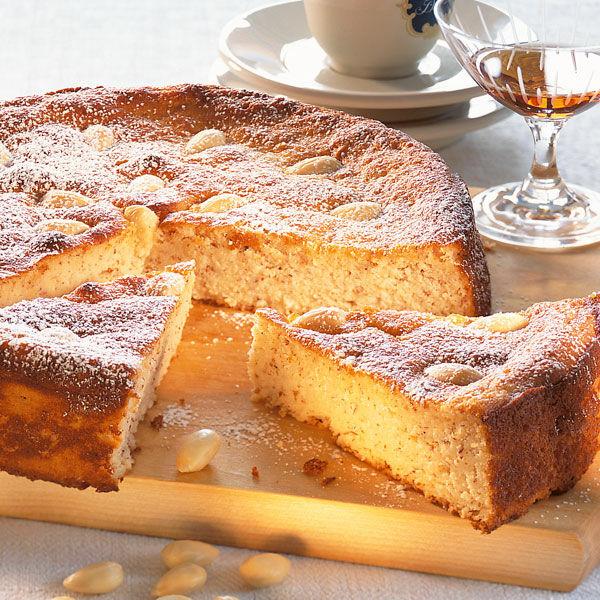 Spanischer Mandelkuchen