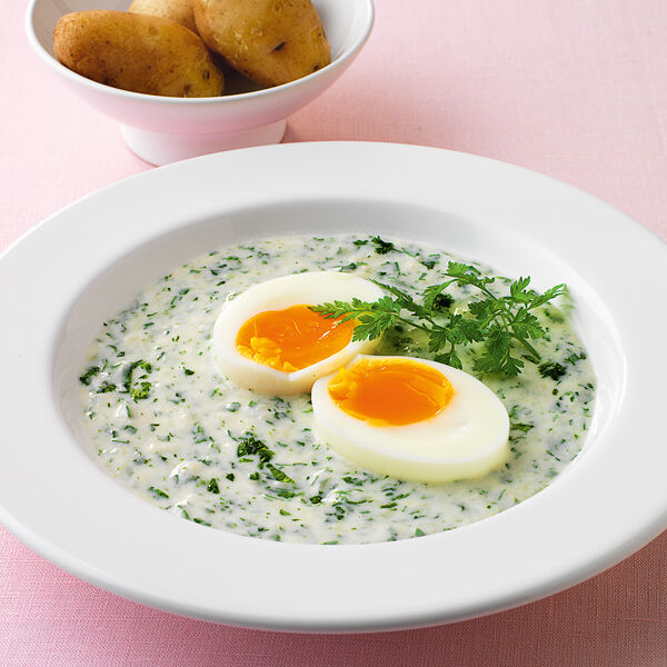 Eier im kr uterteich rezept k cheng tter - Eier kochen dauer ...
