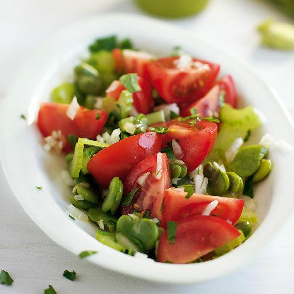 tomaten bohnen salat rezept k cheng tter. Black Bedroom Furniture Sets. Home Design Ideas