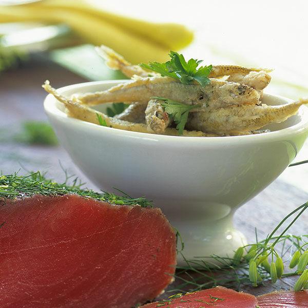 frittierte sardinen in essig und l rezept k cheng tter. Black Bedroom Furniture Sets. Home Design Ideas
