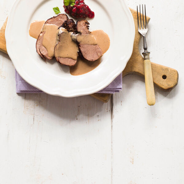 Rehkeule Mit Speck Rezept Küchengötter