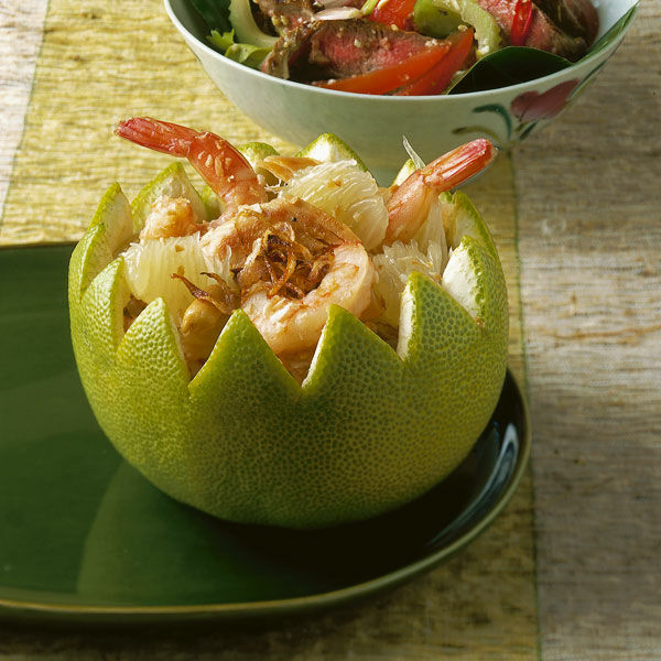 pomelo h hnchen salat rezept k cheng tter. Black Bedroom Furniture Sets. Home Design Ideas