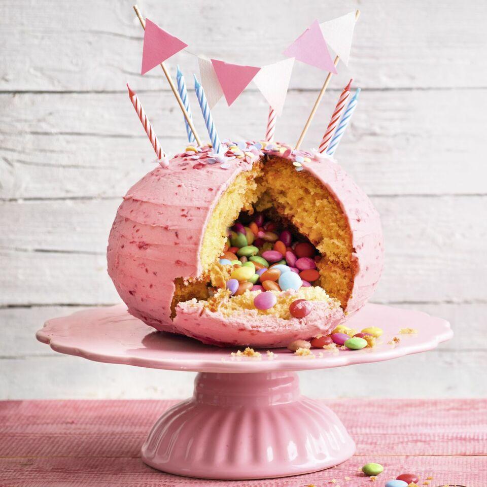 Pinata Torte Step By Step Motivtorten Rezept Kuchengotter