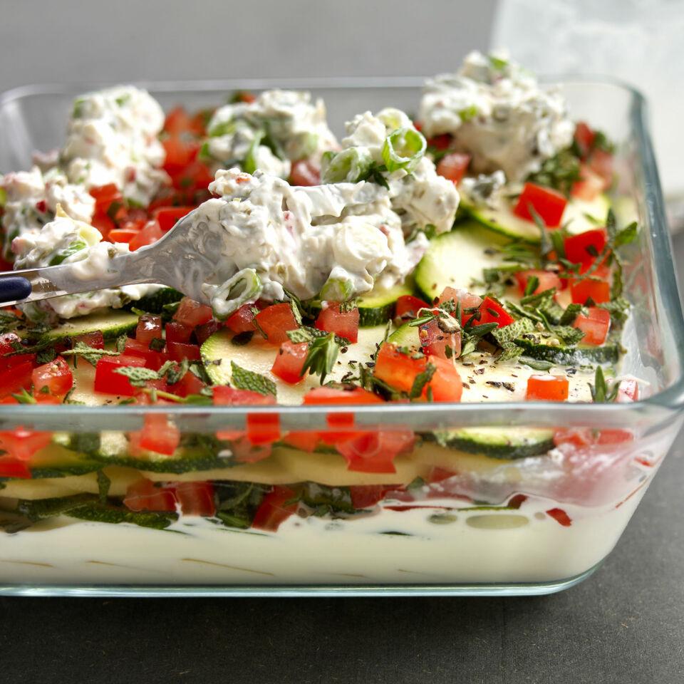 Rezept zucchini und kartoffel