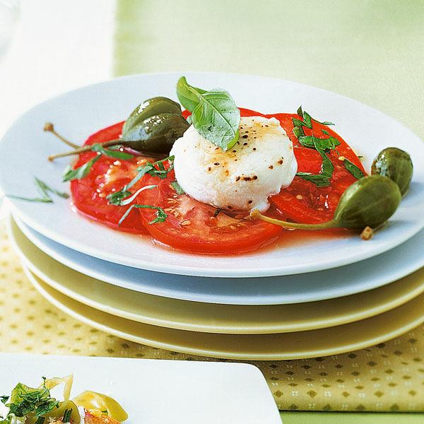 tomaten mit ziegenk se rezept k cheng tter. Black Bedroom Furniture Sets. Home Design Ideas
