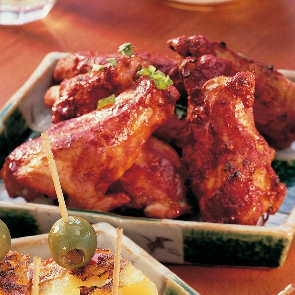 chicken wings tandoori rezept k cheng tter. Black Bedroom Furniture Sets. Home Design Ideas