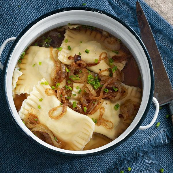 maultaschen mit geschmälzten zwiebeln rezept küchengötter