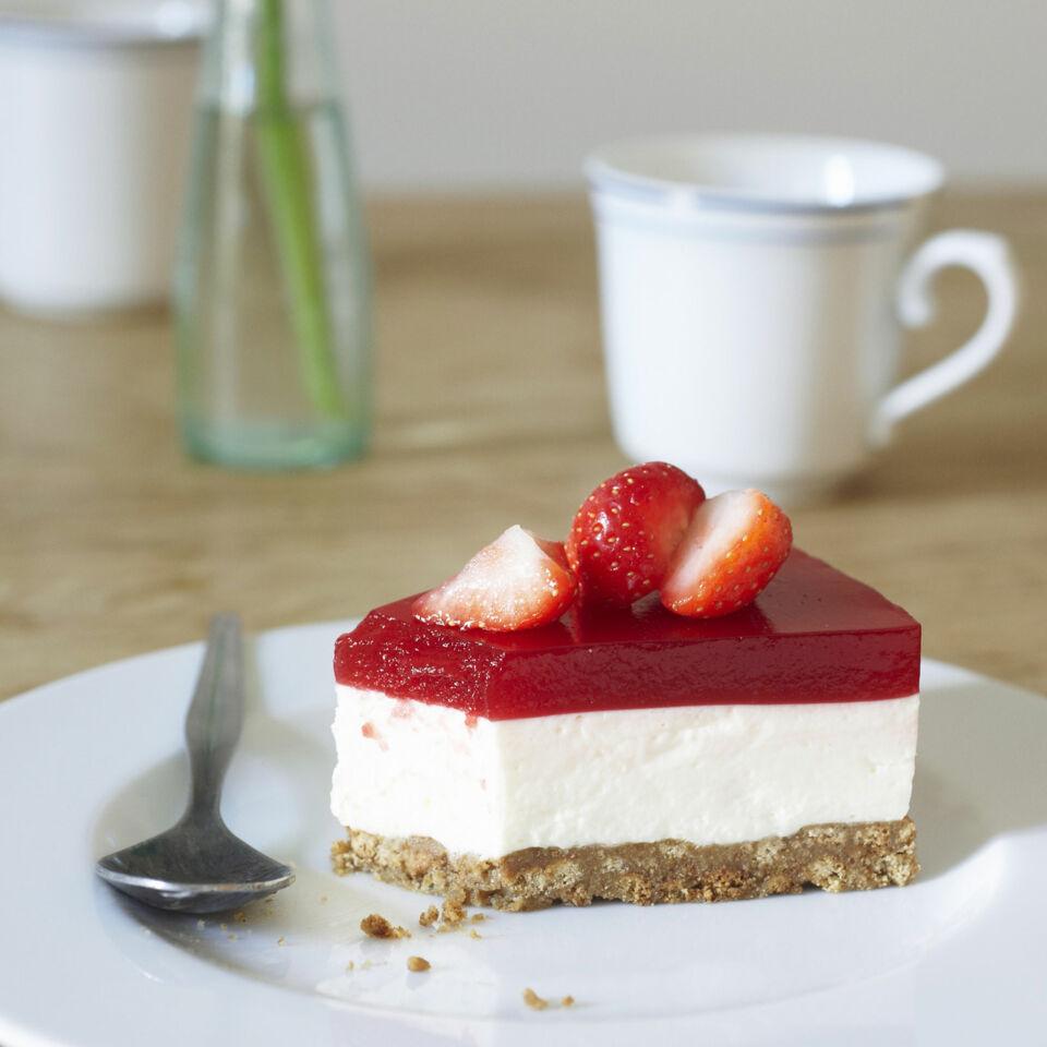 Erdbeerlimes Frischkase Torte Rezept Kuchengotter
