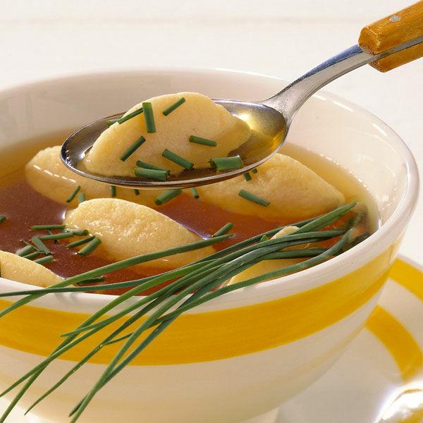 Grie 223 Nockerlsuppe Rezept K 252 Cheng 246 Tter