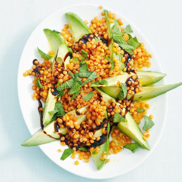 avocado linsen salat rezept k cheng tter. Black Bedroom Furniture Sets. Home Design Ideas