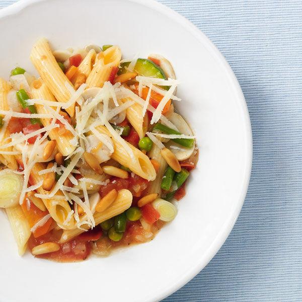 Italienische Gemüsenudeln Rezept Küchengötter