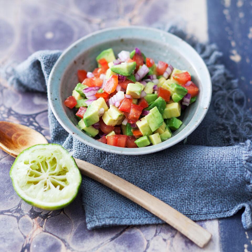 Avocado Tomaten Salsa Rezept Küchengötter