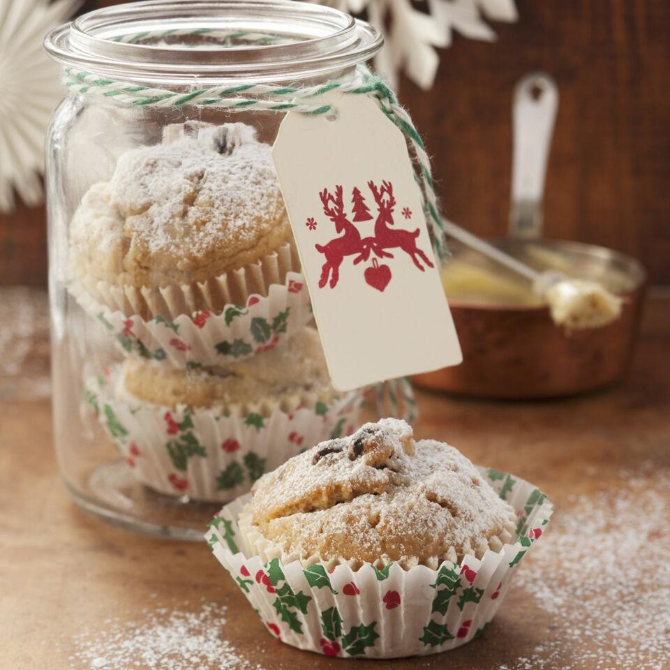 christstollen muffins rezept k cheng tter. Black Bedroom Furniture Sets. Home Design Ideas
