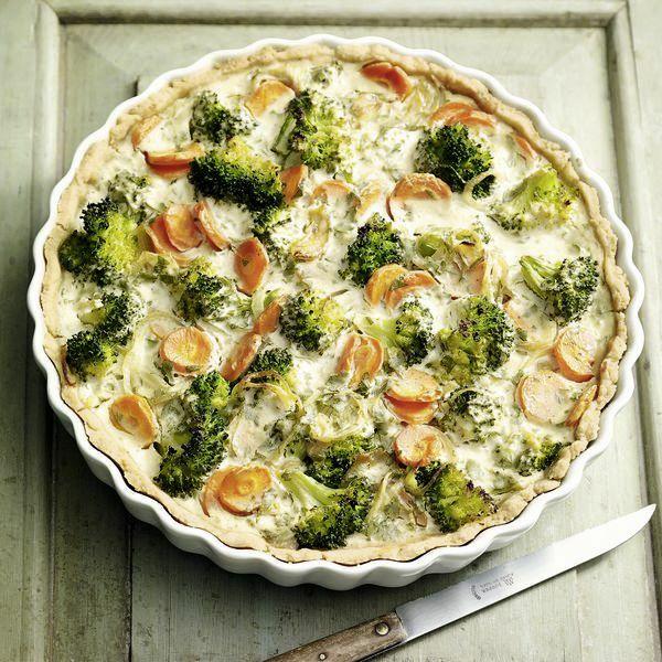 vegetarische brokkoli quiche rezept küchengötter