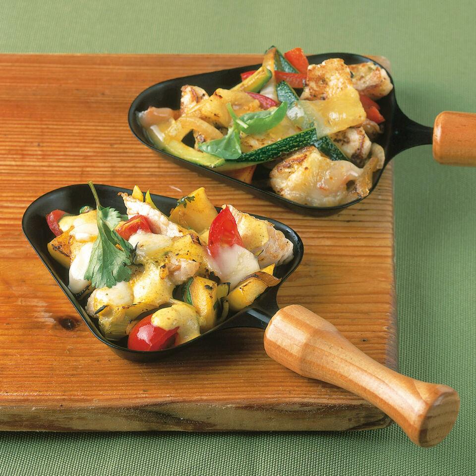putenstreifen in currysauce rezept raclette k cheng tter. Black Bedroom Furniture Sets. Home Design Ideas