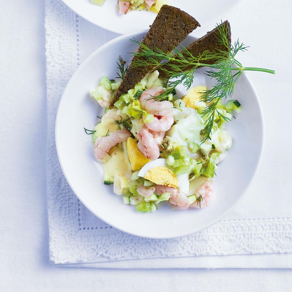 krabben eier salat rezept k cheng tter. Black Bedroom Furniture Sets. Home Design Ideas