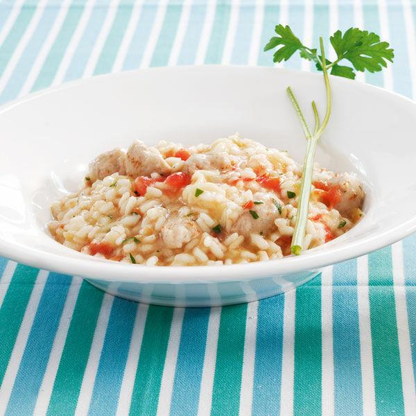 tomaten risotto mit salsiccia rezept k cheng tter. Black Bedroom Furniture Sets. Home Design Ideas