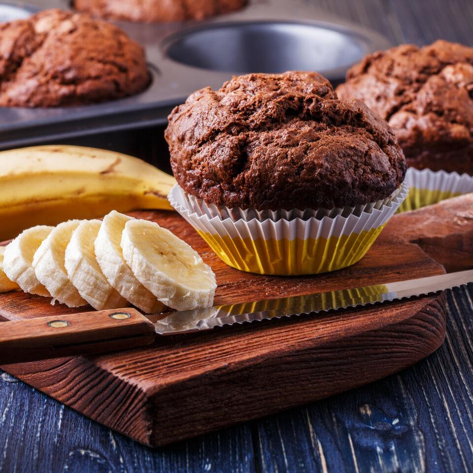 Low Carb Schoko Bananen Muffins Rezept Kuchengotter