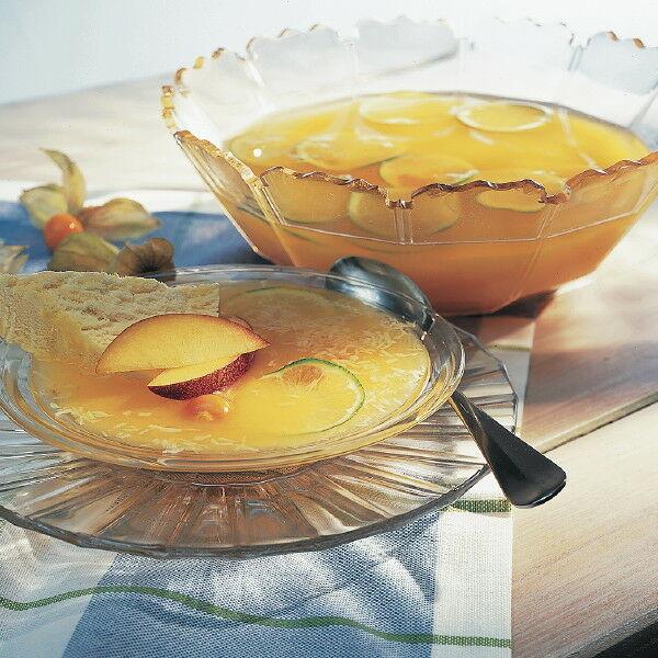pfirsich kokos kaltschale mit ananas eis rezept k cheng tter. Black Bedroom Furniture Sets. Home Design Ideas