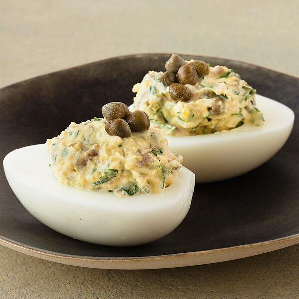 Sardellen kapern eier rezept k cheng tter - Eier kochen dauer ...