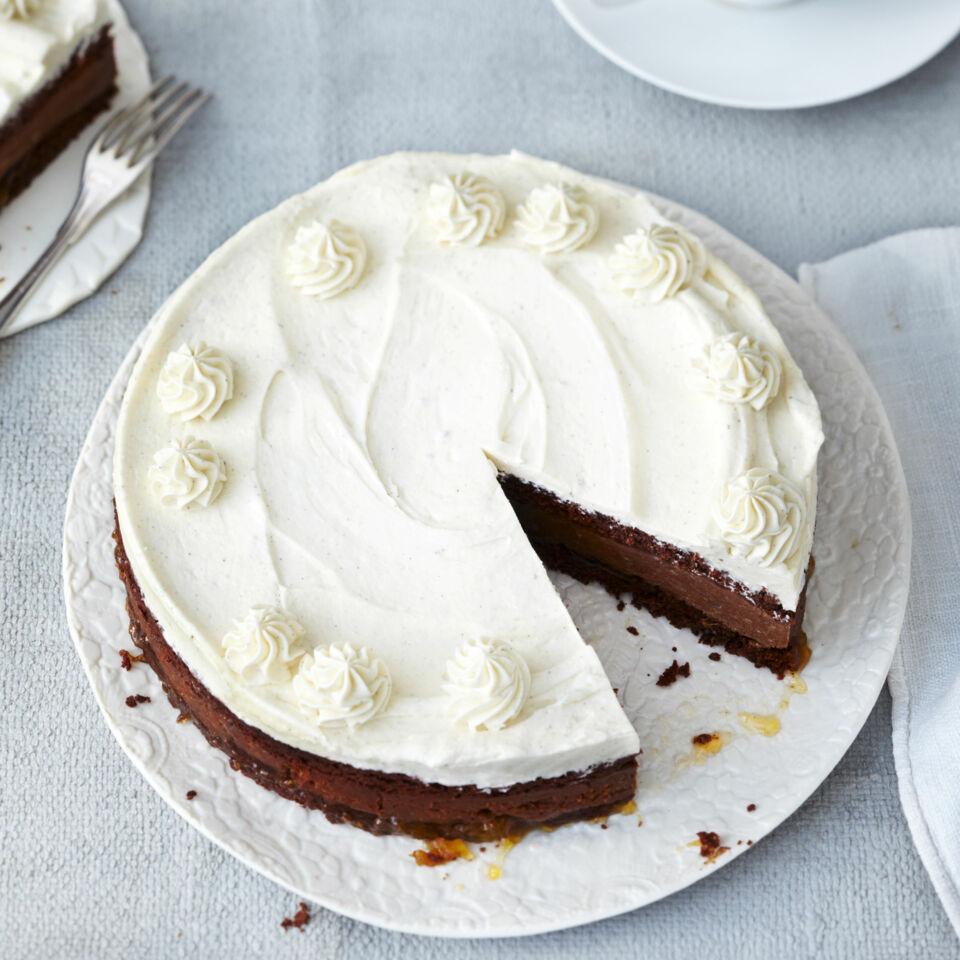 vegane maronen vanille torte rezept k cheng tter. Black Bedroom Furniture Sets. Home Design Ideas