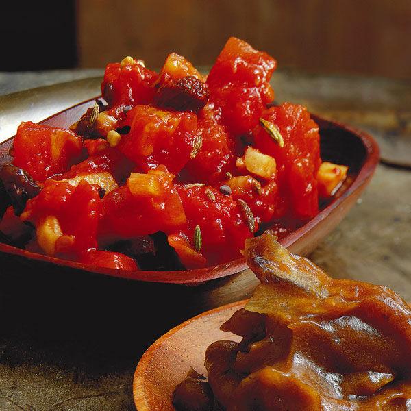 tomaten rosinen chutney rezept k cheng tter. Black Bedroom Furniture Sets. Home Design Ideas