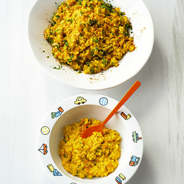 Graupen-Risotto mit Huhn