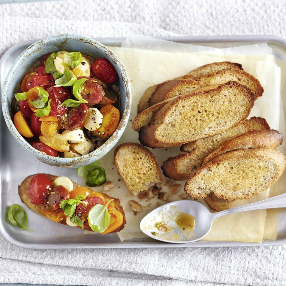 Bruschetta Mit Tomaten Kompott