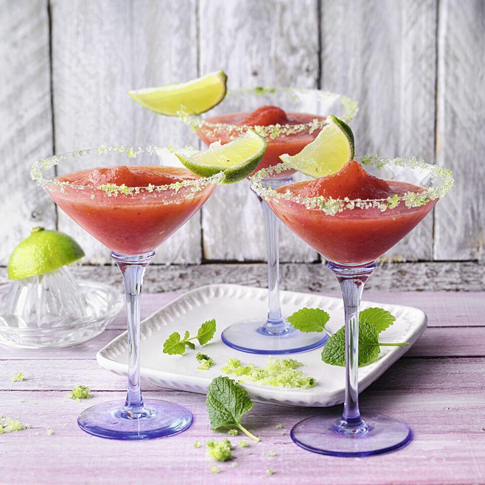 Künstlerisch Strawberry Daiquiri Rezept Sammlung Von Margarita