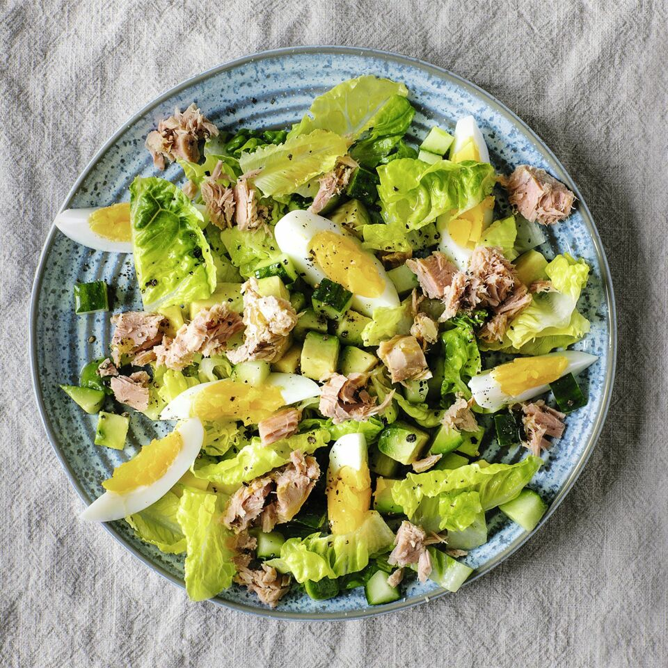 Avocado-Thunfisch-Salat
