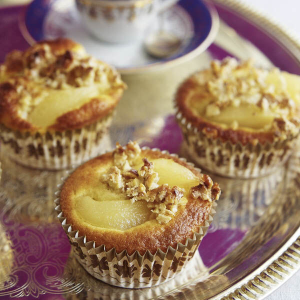 quitten muffins mit walnusskruste rezept k cheng tter. Black Bedroom Furniture Sets. Home Design Ideas